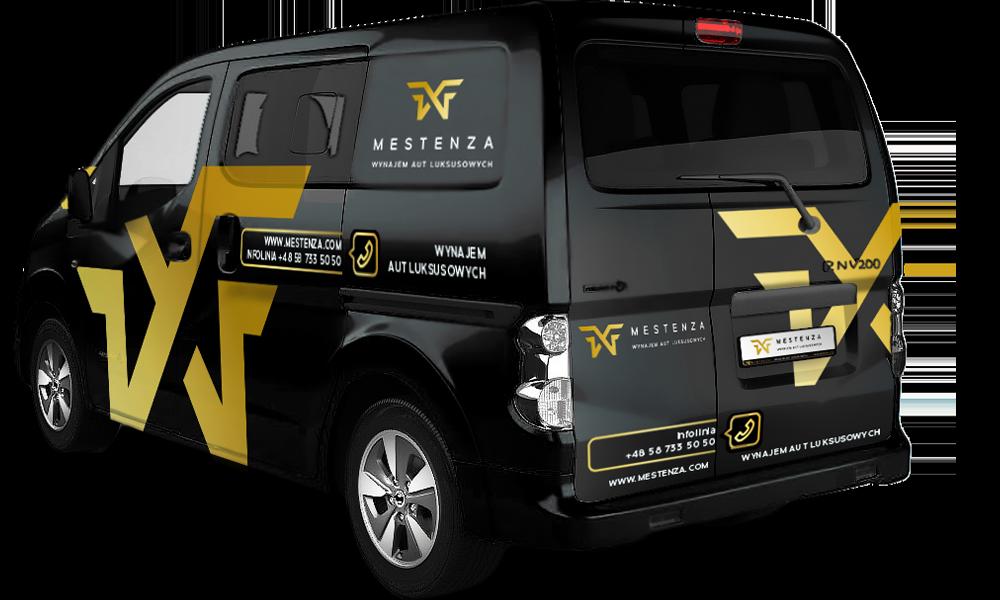 Nissan e-NV200 - Wypożyczalnia samochodów luksusowych Mestenza Trójmiasto Rafał Grzebin